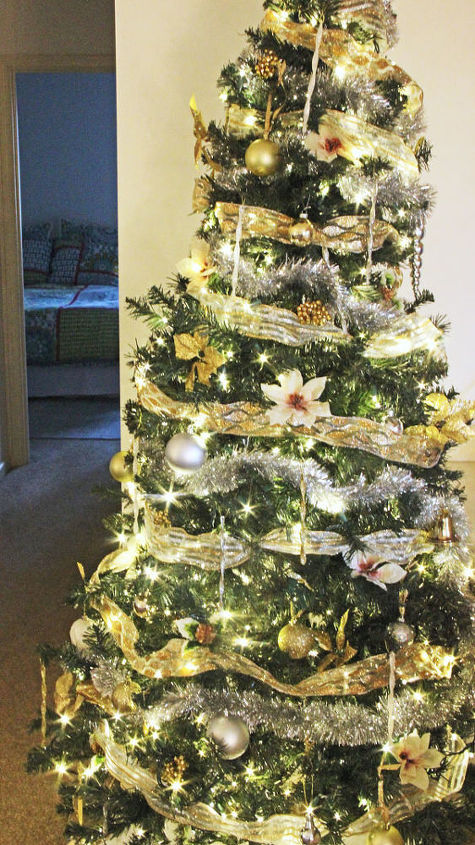 How to light ribbon and decorate a christmas tree hometalk How do i decorate my christmas tree with ribbon