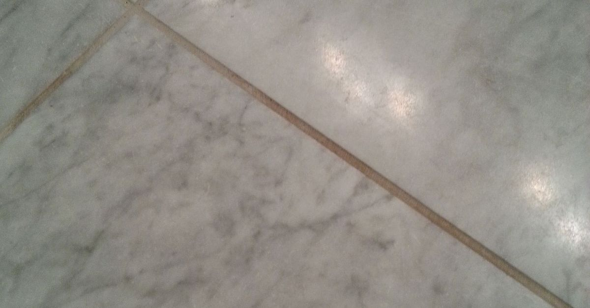 What Do You Use To Clean Grout On A Honed Marble Floor
