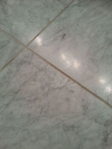 What do you use to clean grout on a honed marble floor for How to clean floor tile grout in bathroom