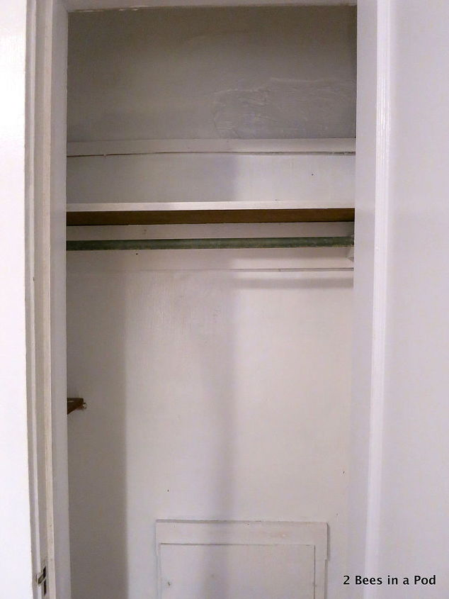 Small space solution laundry closet makeover hometalk - Small closet space solutions minimalist ...
