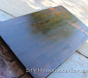 Refinishing A Dining Room Table With Paint and Wood Stain  Hometalk