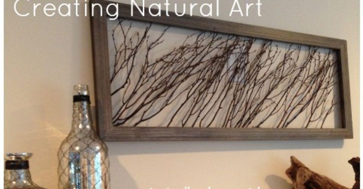 Twig Wall Art create natural wall art using wooden sticks | hometalk