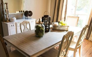 updated dining room before and after, dining room ideas, lighting, painted furniture, painting, repurposing upcycling