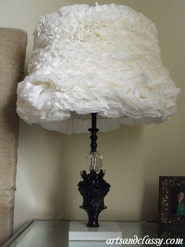 Goodwill Find DIY Vintage Table Lamp Makeover