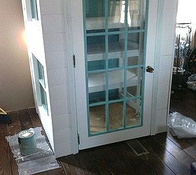 Diy Cabinet Pantry From Old Doors And Windows, Closet, Diy, Kitchen Cabinets ,