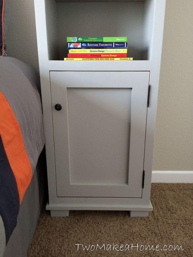 How to Build Bedroom Storage Towers | Hometalk