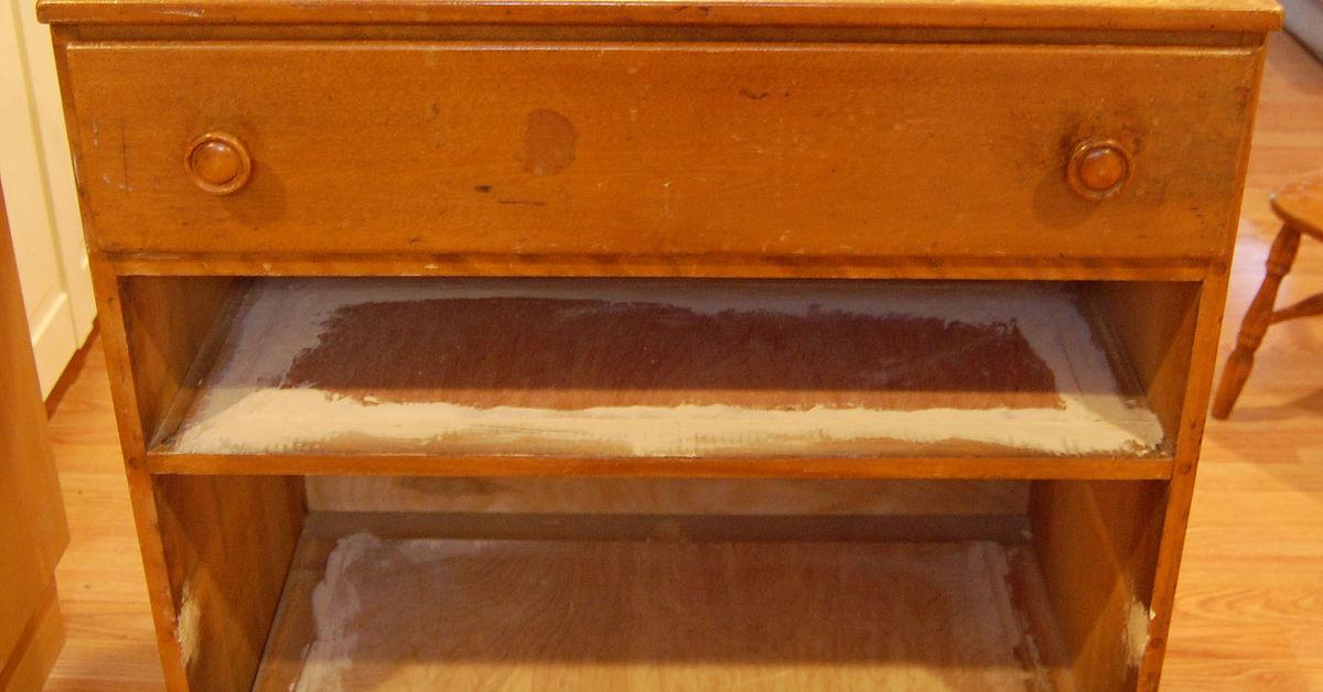 Repurposed Antique Dresser As A Kitchen Island With A: Repurposed Dresser Into Custom Kitchen Island