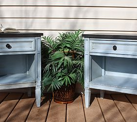 Exceptional Repainted Drexel Nightstands, Chalk Paint, How To, Painted Furniture