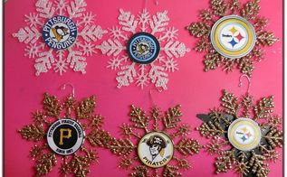 ornaments for the sports lover, christmas decorations, crafts, repurposing upcycling, seasonal holiday decor