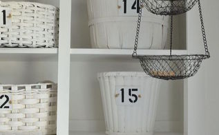 how i organized my open cabinets in the laundry room cheap, crafts, laundry rooms, organizing, repurposing upcycling, storage ideas