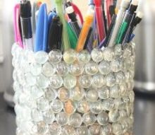 recycled soda bottle pencil holder, crafts, how to, repurposing upcycling