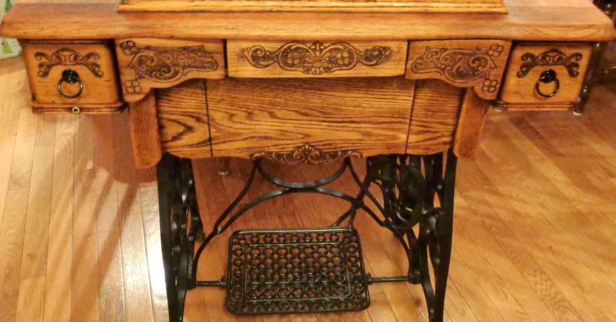 repair singer treadle sewing machine