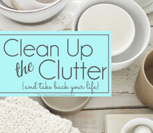 ideas on how to clean up the clutter, cleaning tips, organizing, storage ideas