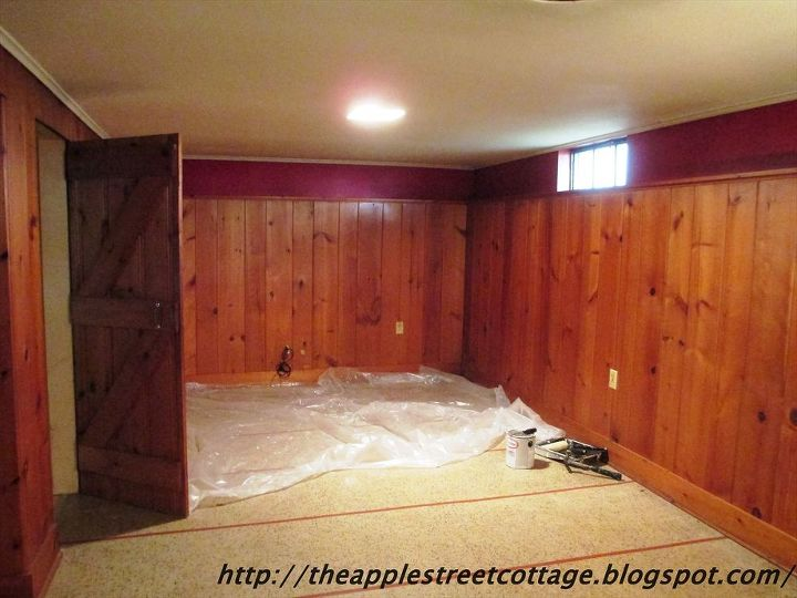 basement wall panels painted in white basement ideas painting