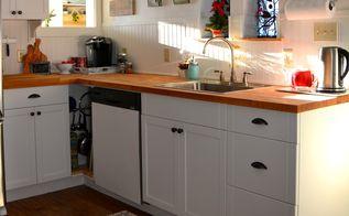 kitchen remodel ideas farmhouse transformation, diy, home improvement, kitchen cabinets, kitchen design