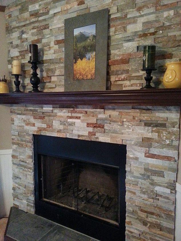 Building a Fireplace from Scratch | Hometalk