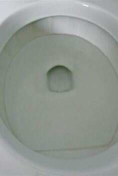 get rid of the lime scale ring in the toilet bowl, bathroom ideas, cleaning tips, Does Your Toilet Bowl Look Like This