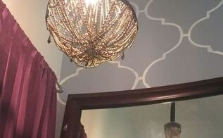 diy vintage glam waterfall chandelier, crafts, how to, lighting, repurposing upcycling