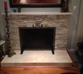 How do I take paint off this fireplace?   Hometalk