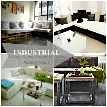 Industrial inspired living room hometalk for Organizing living room furniture