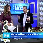 hometalk on the daily buzz, repurposing upcycling