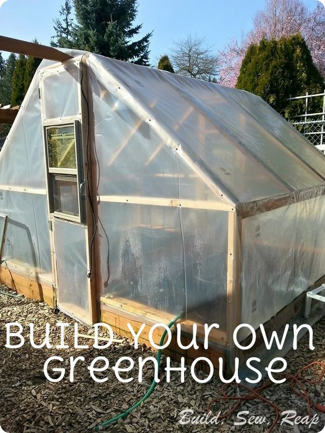 Build Your Own Simple Greenhouse Hometalk