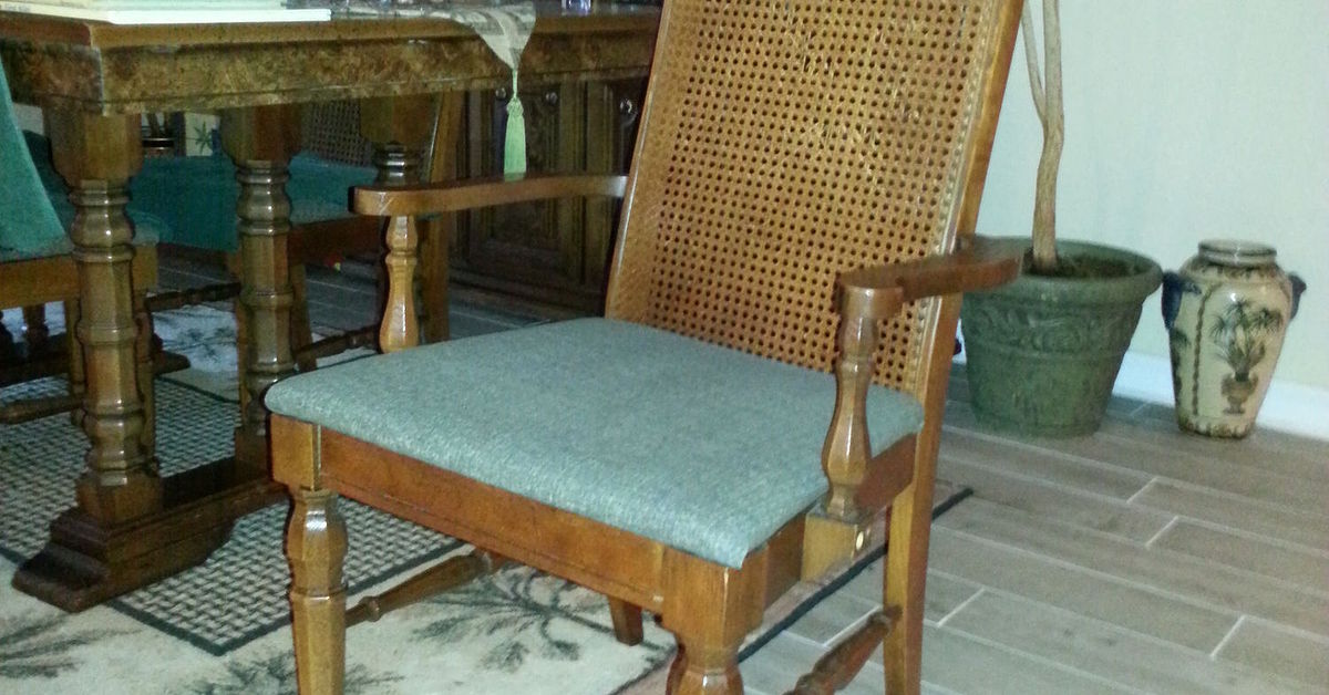 Cane Backed Dining Chairs Need New Cane What Can I Do