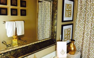luxury guest bathroom make over, bathroom ideas