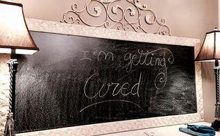 diy curing seasoning chalkboard tutorial, chalkboard paint, crafts, how to