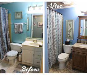 Small Bathroom Ideas Diy Diy Small Bathroom Renovation Hometalk