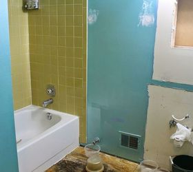 Diy Small Bathroom Renovation, Bathroom Ideas, Home Improvement, Painting, Small  Bathroom Ideas
