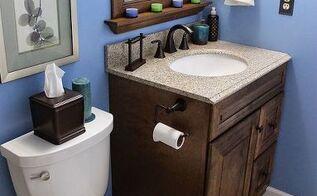 diy small bathroom renovation, bathroom ideas, home improvement, painting, small bathroom ideas, tile flooring