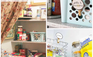 pantry organization and makeover on a budget, closet, kitchen cabinets, organizing