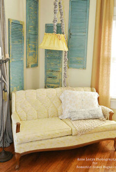 shabby chic romantic bedroom decor, bedroom ideas, home decor, porches, repurposing upcycling, shabby chic, wall decor