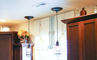 change can lights to pendant lights in less than 10 minutes, home decor, lighting
