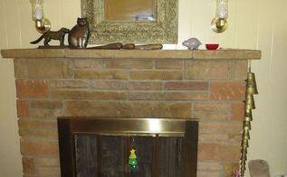 q ideas for stone fireplace, concrete masonry, fireplaces mantels