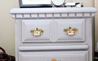 painting furniture with a sprayer, painted furniture