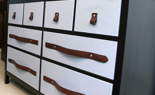 mens belts turned drawer pulls, bedroom ideas, chalk paint, diy, kitchen cabinets, repurposing upcycling