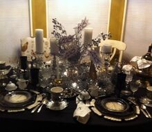 first tablescape for 2015