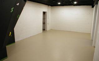 basement renovation, basement ideas, entertainment rec rooms, flooring, painting