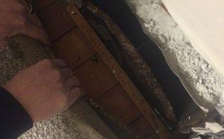 q removing carpet from very old wood floors, cleaning tips, flooring, hardwood floors, home maintenance repairs