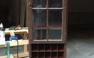 repurposed folding louvered closet doors to clothes and shoe, closet, doors, repurposing upcycling, woodworking projects