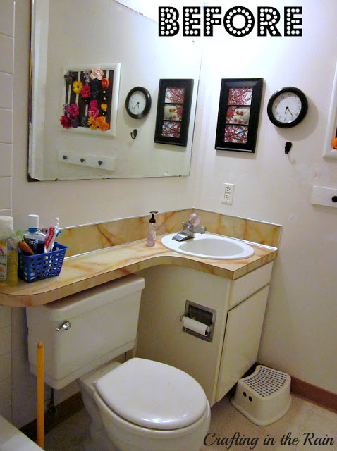 Pvc pipe toothbrush holder hometalk for Extremely small bathroom ideas