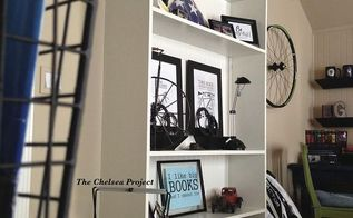 how to build a floating bookcase, how to