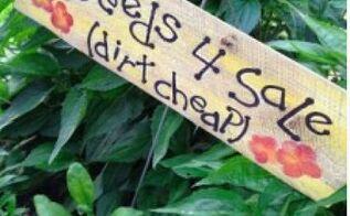 diy garden signs, crafts, gardening