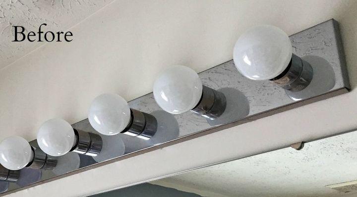 Diy Industrial Vanity Light 67 Bathroom Ideas How To Lighting Repurposing Upcycling