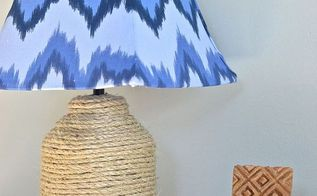 thrift store lamp and lampshade makeover, crafts, how to, lighting, repurposing upcycling