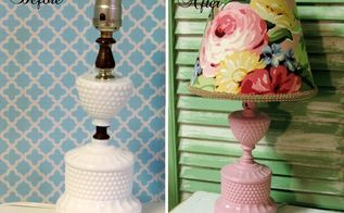 a vintage lamp makeover, how to, lighting, painting, repurposing upcycling