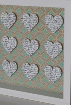 valentine s shadow box, crafts, how to, seasonal holiday decor, valentines day ideas