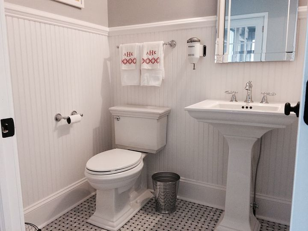 Powder room makeover hometalk - Bathroom makeover practical refreshing ideas ...